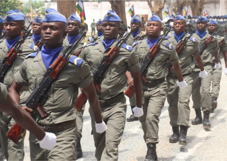 Centrafrique : Fin de formation de 651 élèves gendarmes à Bangui