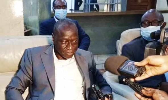 Centrafrique : Ousmane Diagana entame une série des rencontres avec les autorités de la RCA