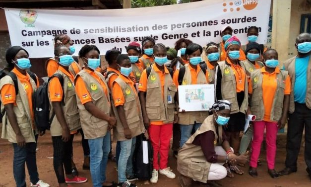 Centrafrique : La contribution de l'UNFPA pour une intégration des sourds-muets dans le développement de la République Centrafricaine