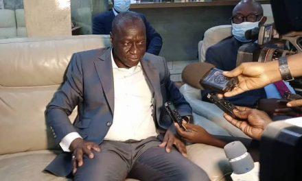 Centrafrique : Ousmane Diagana de la Banque mondiale en visite de travail en République Centrafricaine